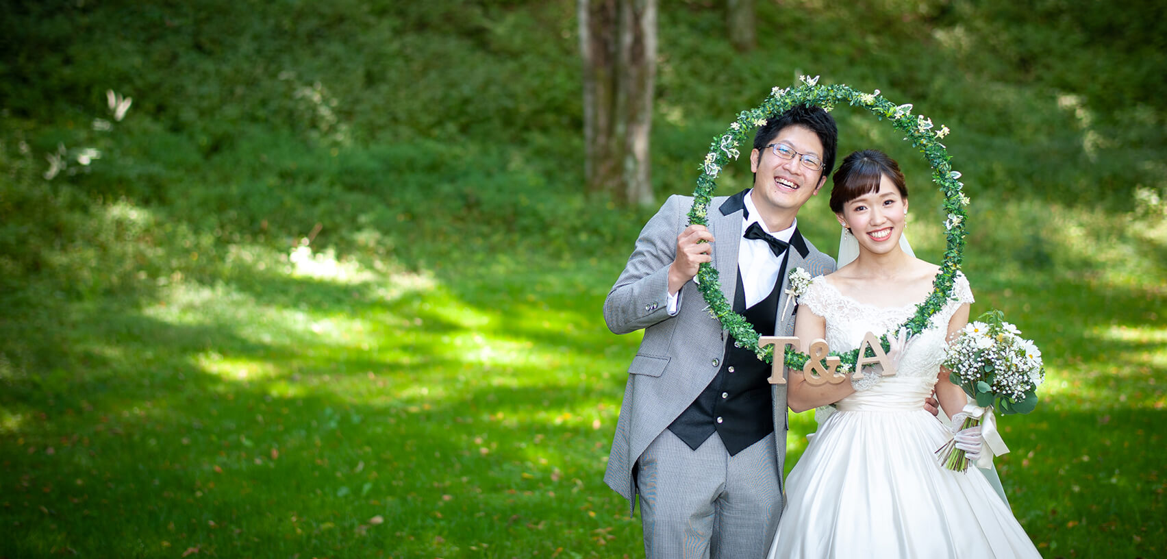 軽井沢の家族婚1