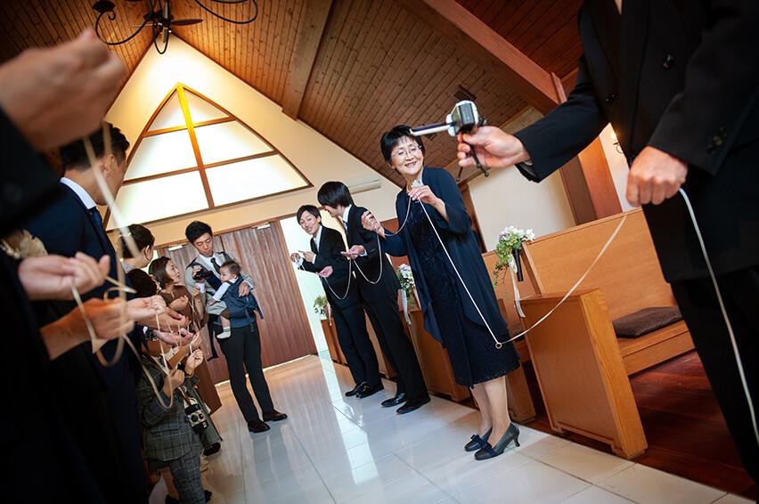 軽井沢の家族婚7