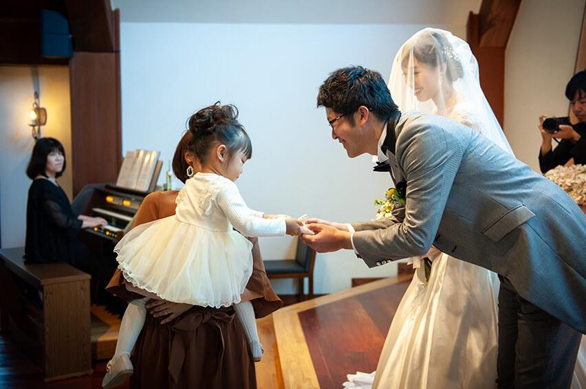 軽井沢の家族婚8