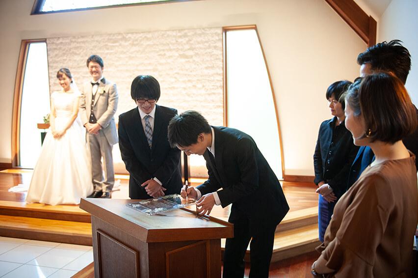軽井沢の家族婚9