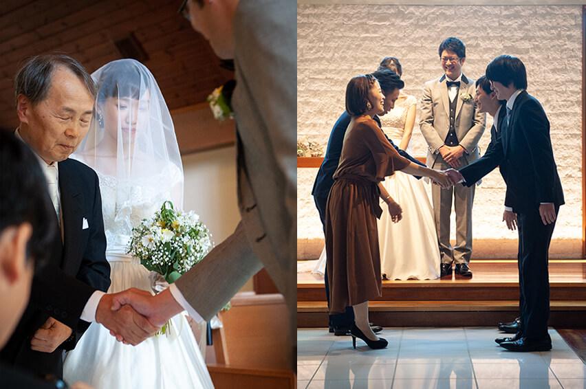 軽井沢の家族婚10