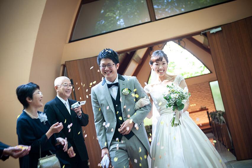 軽井沢の家族婚11