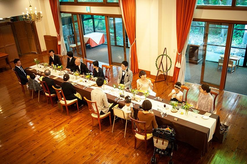 軽井沢の家族婚12