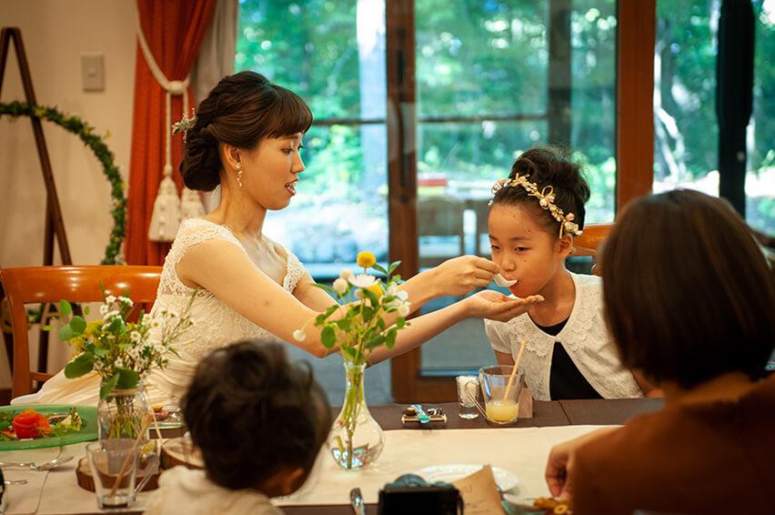 軽井沢の家族婚13