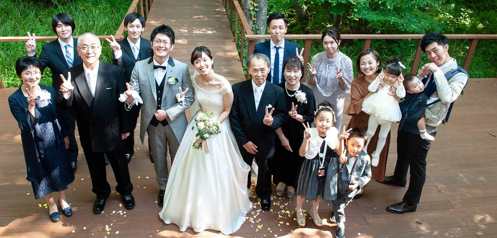 軽井沢の家族婚14